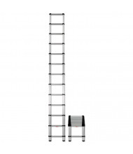 Telesteps 16 H 12-Step Telescopic Extension Ladder, Aluminum