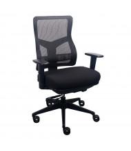 Eurotech Tempur-Pedic Mesh-Back High-Back Fabric Task Chair (Shown in Black)
