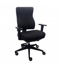Eurotech Tempur-Pedic Fabric High-Back Task Chair (Shown in Black)