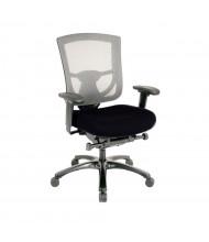 Eurotech TempurPedic Mesh-Back Mid-Back Fabric Task Chair (Shown in Black)