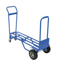 Vestil 4-Wheel Multi-Position Steel Convertible Hand Truck