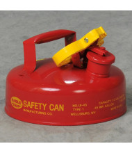 Eagle Type I 2 Quart Galvanized Steel Metal Safety Can (Shown in Red)