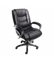 Mayline Ultimo UL550HEZ EZ-Assemble Genuine Leather High-Back Executive Office Chair