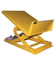 """Vestil Powered Lift and Tilt 4000 lb Load 48"""" x 48"""" Workstation Tables"""