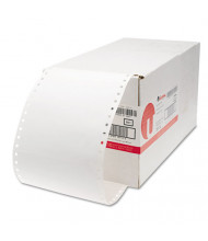 "Universal 5"" x 2-15/16"" Dot Matrix Printer Labels, White, 3000/Box"