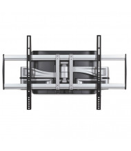 """Balt HG 20"""" H Articulating Flat Panel Wall Mount For TVs Up To 32"""" to 65"""", Silver/Black"""