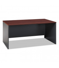 "Bush Series C WC 66"" W Straight Front Office Desk"