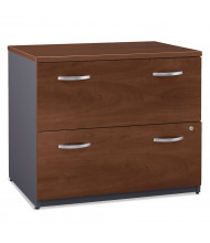 "Bush WC24454ASU Series C 2-Drawer 35.75"" Wide Lateral File Cabinet"