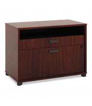 """Basyx MG30FDC1A1 Manage 30"""" W x 16"""" D 2-Drawer File Center Cabinet, Chestnut"""