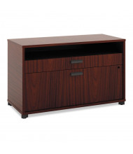"""Basyx MG36FDC1A1 Manage 36"""" W x 16"""" D 2-Drawer File Center Cabinet, Chestnut"""