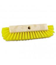 "Boardwalk 10"" Dual-Surface Scrub Brush, Yellow, Pack of 12"