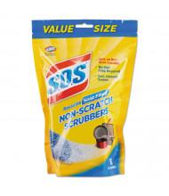 S.O.S Non-Scratch Soap Scrubbers, Blue, Pack of 48