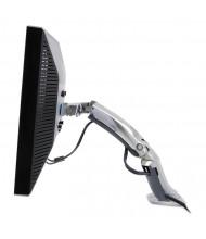 """Ergotron MX Desk Mount Arm For Monitors Up To 30"""", Polished Aluminum"""
