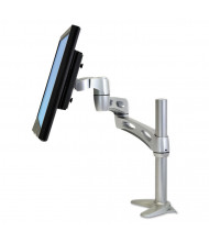 """Ergotron Neo-Flex Extend Arm For Monitors Up To 24"""", Silver"""