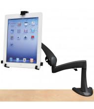 """Ergotron Neo-Flex Desk Mount Tablet Arm For Tablets Up To 10"""", Black"""