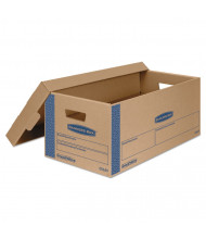 """Bankers Box 24"""" x 12"""" x 10"""" SmoothMove Prime Moving & Storage Boxes, Pack of 8"""