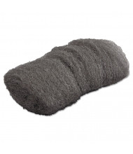 GMT Industrial-Quality #000 Extra Fine Steel Wool Hand Pad, Steel Grey, Pack of 192
