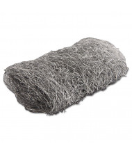 GMT Industrial-Quality #4 Extra Coarse Steel Wool Hand Pad, Steel Grey, Pack of 192