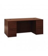 "HON 10500 72"" W Double Pedestal Office Desk"