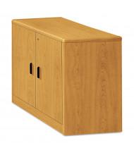 """HON 107291CC 2-Door 36"""" W Locking Storage Cabinet, Harvest"""