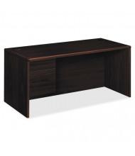 "HON 10700 66"" W Single Pedestal Office Desk, Left"