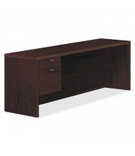 "HON Valido 72"" W Single Pedestal Credenza Office Desk, Left"