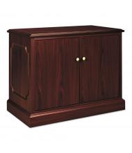 HON 94291NN 2-Door Storage Cabinet, Mahogany