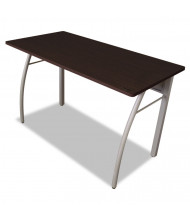 "Linea Italia Trento Line 48"" W Straight Front Steel Office Desk"