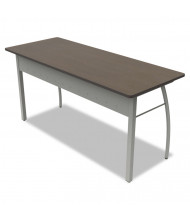 "Linea Italia Trento Line 60"" W Straight Front Steel Office Desk"