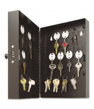 SteelMaster 28 Key Hook-Style Combination Lock Black Key Cabinet 201202804