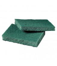 """Scotch-Brite PROFESSIONAL 4.5"""" L x 3"""" W General-Purpose Scrub Pad, Green, Pack of 80"""