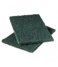 "Scotch-Brite PROFESSIONAL 9"" L x 6"" W Heavy-Duty Scour Pad, Green, Pack of 12"