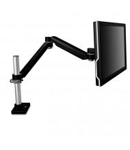 "3M Easy-Adjust Single Monitor Arm Desk Mount For Monitors Up To 30"", Black"
