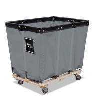 "Royal Basket Trucks 12-Bushel 96-Gallon Permanent Liner Truck, 600 Lb Load, 3"" Casters"