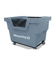 "Royal Basket Trucks Recycling Mail Truck, 1000 Lb Load, 4"" Casters"