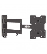 """Tripp Lite Swivel/Tilt Wall Mount For TVs And Monitors 17"""" To 42"""", Black"""