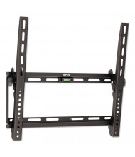 """Tripp Lite Tilt Wall Mount For TVs And Monitors 26"""" To 55"""", Black"""