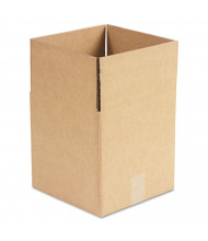 "General Supply 10"" x 10"" x 10"" Corrugated Shipping Boxes, Brown, Pack of 25"