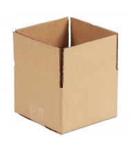 "General Supply 10"" x 10"" x 3"" Corrugated Shipping Boxes, Brown, Pack of 25"
