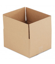 "General Supply 12"" x 10"" x 6"" Corrugated Shipping Boxes, Brown, Pack of 25"