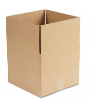 "General Supply 12"" x 12"" x 10"" Corrugated Shipping Boxes, Brown, Pack of 25"