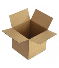 """General Supply 12"""" x 12"""" x 12"""" Corrugated Multi-Depth Shipping Boxes, Brown, Pack of 25"""