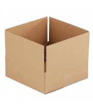 """General Supply 12"""" x 12"""" x 4"""" Corrugated Shipping Boxes, Brown, Pack of 25"""