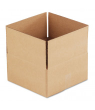 "General Supply 12"" x 12"" x 6"" Corrugated Shipping Boxes, Brown, Pack of 25"
