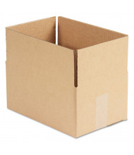 "General Supply 12"" x 8"" x 6"" Corrugated Shipping Boxes, Brown, Pack of 25"