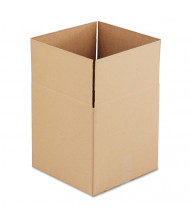 """General Supply 14"""" x 14"""" x 14"""" Corrugated Shipping Boxes, Brown, Pack of 25"""
