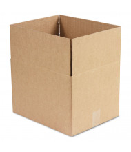 "General Supply 15"" x 12"" x 10"" Corrugated Shipping Boxes, Brown, Pack of 25"
