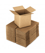 "General Supply 24"" x 24"" x 24"" Corrugated Shipping Boxes, Brown, Pack of 10"