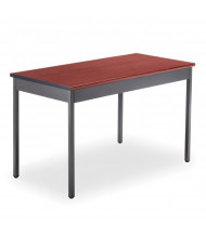 "OFM UT2448 48"" W x 24"" D Rectangular Utility Table (Shown in Cherry)"
