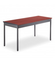 "OFM UT2460 60"" W x 24"" D Rectangular Utility Table (Shown in Cherry)"